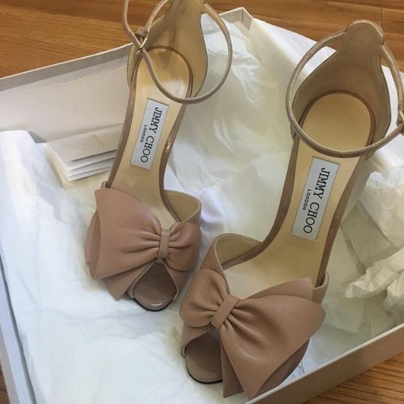 930602075d Jimmy Choo Shoes   Karlotta Heels Size 65   Poshmark